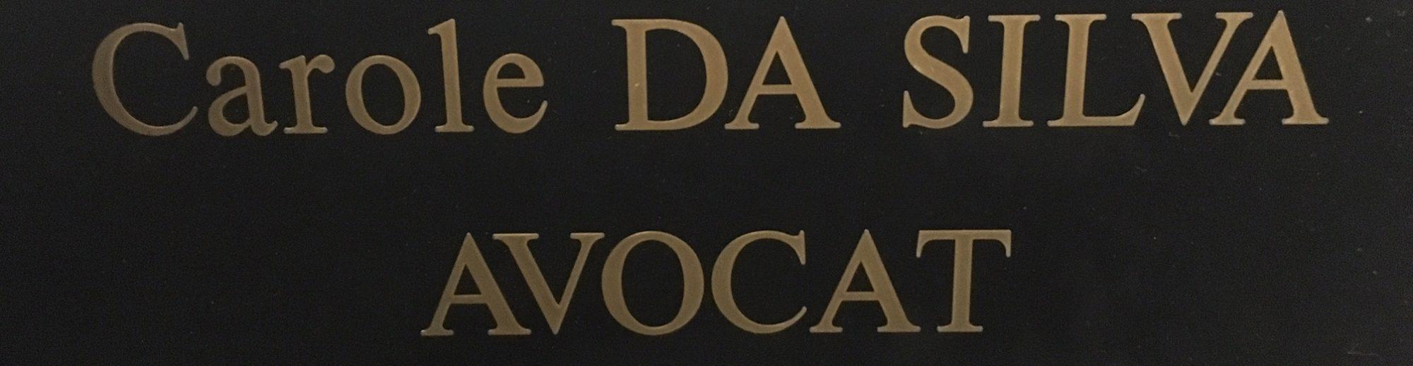 Carole DA SILVA Avocat